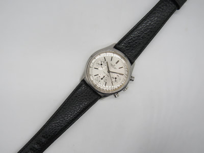 breitling with corfam strap