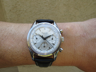 Great looking Universal Geneve Compax, Uni Compax, Aero Compax, big eye