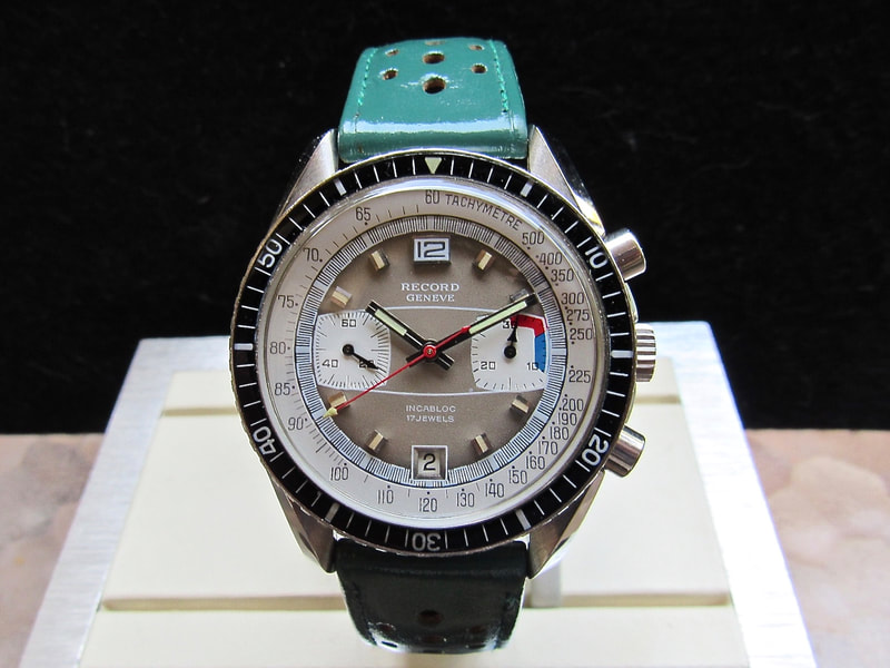 Record Geneve Chronograp same as Speedmaster Case