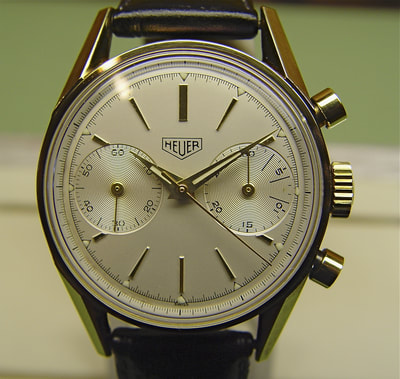 Vintage Heuer pre carrera from Artomatique