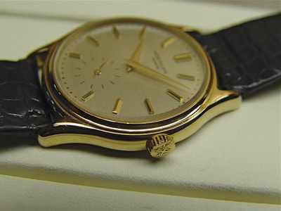 For sale Patek Phiippe Calatrava Ref. 3923 in ping gold
