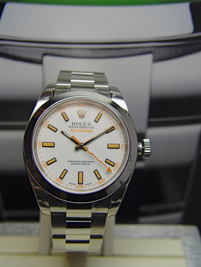 Rolex  Milgauss at Artomatique.net