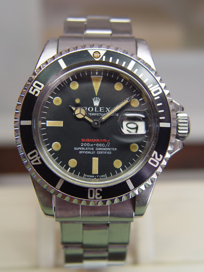 1969 Rolex Red Submariner 1680 meters first by Artomatique.net