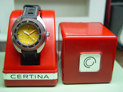 Vintage Certina DS-3 Super PH 1000m