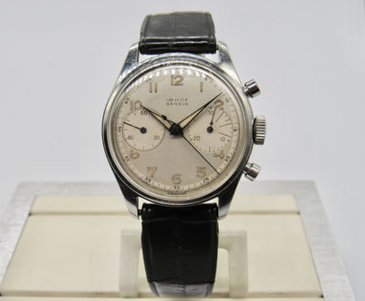 Heuer Ref. 3641 made for Imhof Geneve for sale