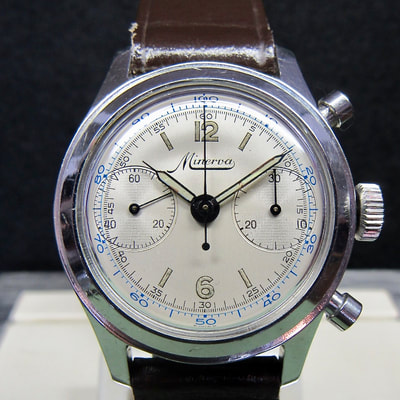 minerva chronograph 1335 at Artomatique.net